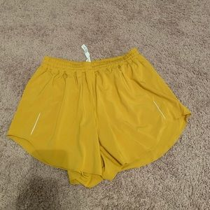 Lululemon | Run Shorts | Gold | 8 | NWT